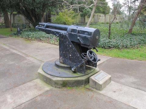 53mm Hotchkiss 5-Barrel Revolver Gun, Mare Island Shipyard, by Vladimir Yakubov thetis mare island 2