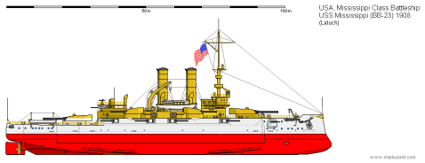 As built, U.S. service, image via Shipbucket