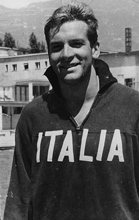 He was also the first Italian to swim the 100 m freestyle in less than one minute in 1950. He represented his country in the 1952, 56 and 60 Olympic Games.