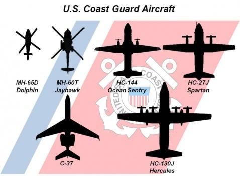 flyover uscg aircraft