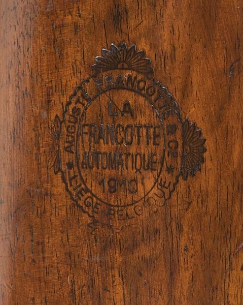 Francotte Model 1910 crest