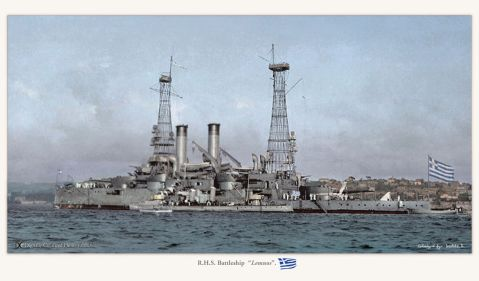 U.S. Naval History and Heritage Command Photograph. Catalog #: NH 46708. Colorized by irootoko_jr.