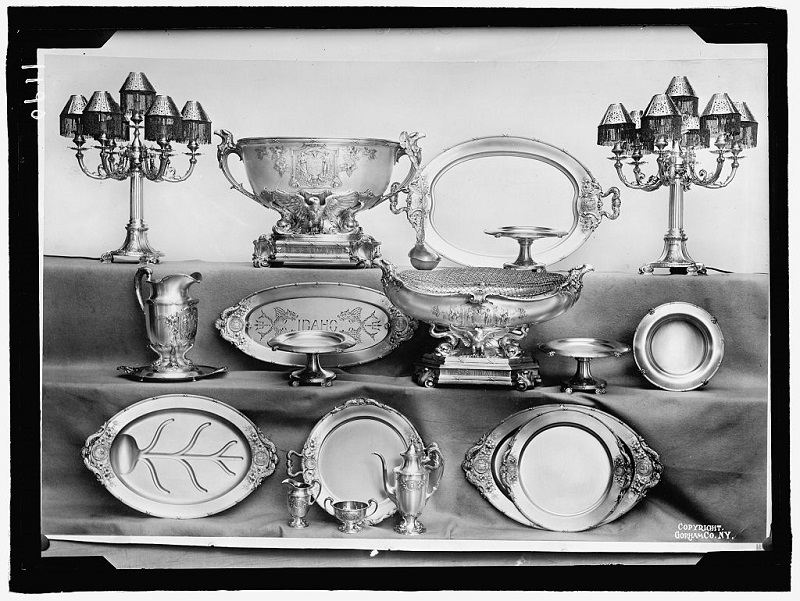 idaho silver service 1912