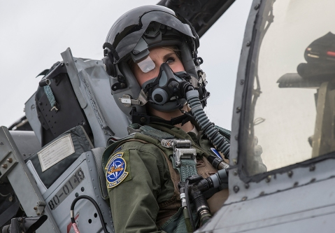 Kayla Bowers A-10 Thunderbolt warthog a10 female pilot 10