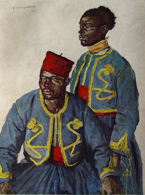 French Tirailleur Algerians