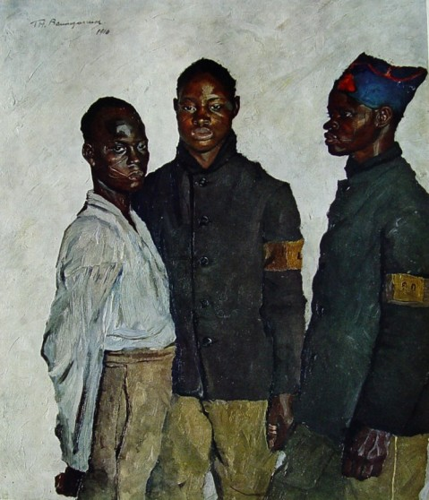 Portraits of soldiers first world war by Thomas Baumgartner (1892-1962) 9
