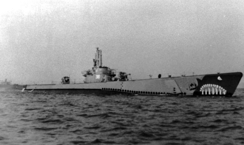 I can't find a good wartime profile of Barbero, but here is her most excellent sistership USS Baya SS-318, who was built the same week she was.