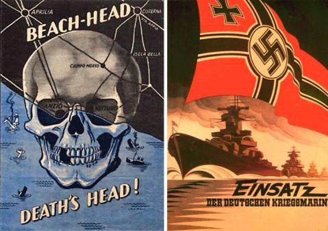 anzio cisternia propaganda poster