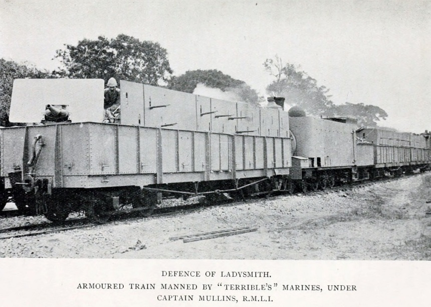 Armoured Train manned by Terrible's Marines gallery