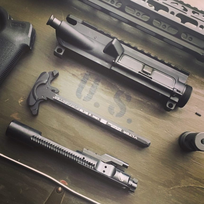 """So now components, such as the bolt carrier group and charging handle, define what make up an """"assault rifle"""" under Healy's interpretation of Mass law....not the gun itself."""