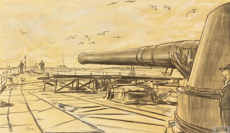 HMS Lion A Gun Turret