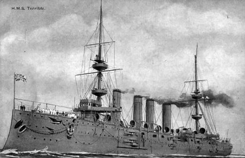 Great War service had her in a more sedate haze gray