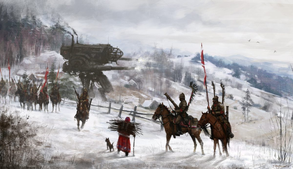 "1920s Hussars. Note the classic ""Winged Hussars"" meets modern warfare http://www.badassoftheweek.com/hussars.html"