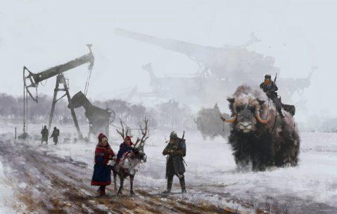 Jakub_Rozalski_Art_1920-dad-s-at-work-small1