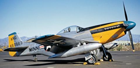 Minnesota ANG F-51D Mustang, 1953