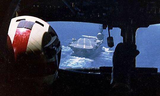 S-2 landing HMAS Melbourne