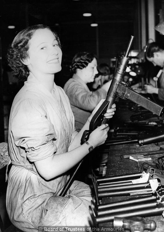 sten gun assembly girl