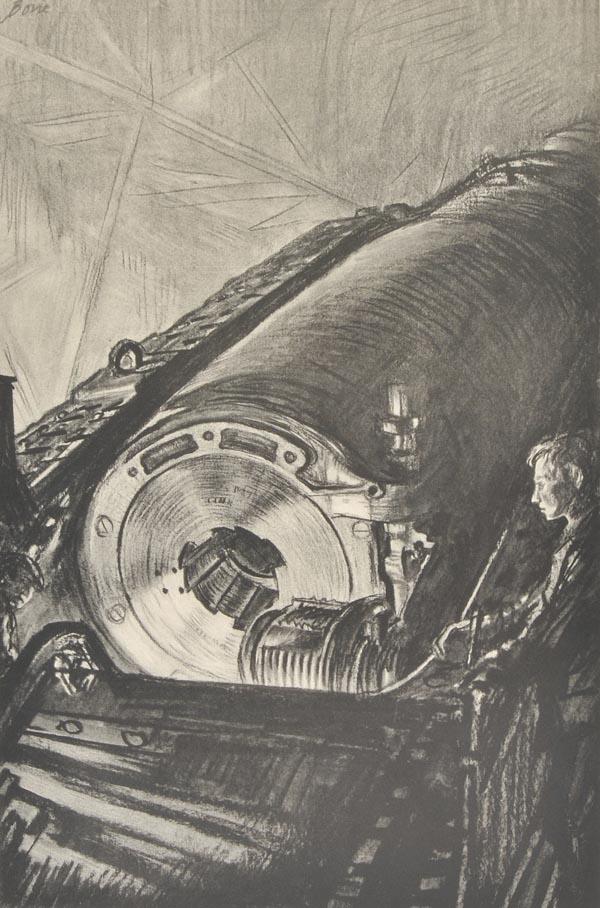 Nightwork on the Great Gun 1917