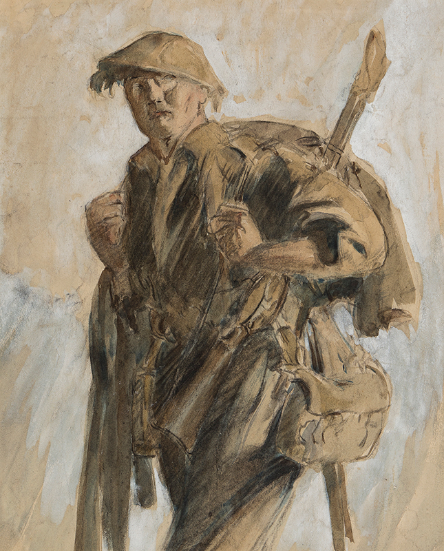 Tommy, pencil 1916