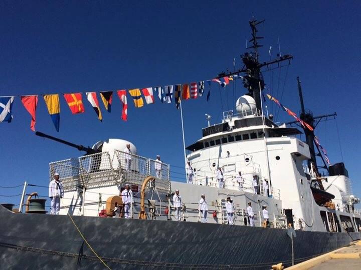 WHEC 719 Boutwell 378 cutter frigate Andres Bonifacio (FF17) July 21 2016