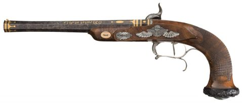12mm boutet dueling pistol french 1800 a