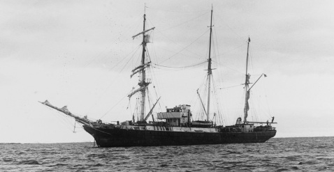 Photographed circa 1939, possibly during Byrd's 1940 Antarctic Expedition. This ship also served as USS BEAR (AG-29) and as USCGC BEAR. Description: Catalog #: 80-G-1033748