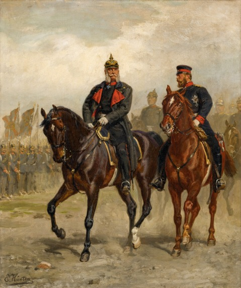 Prussian Army Crown Prince and Chief of Staff (Generalstabschef) Helmuth Moltke