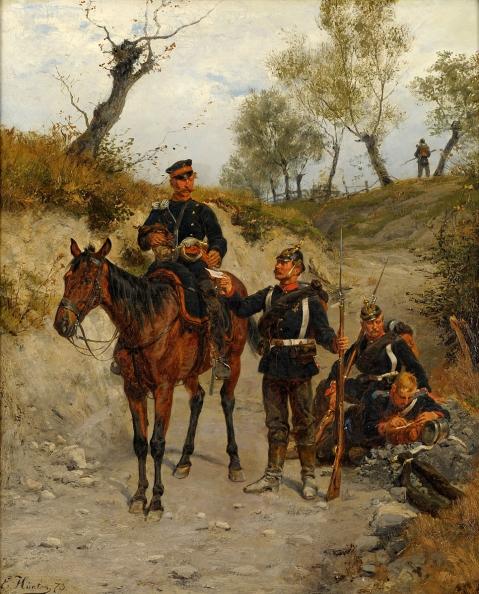 Emil Hünten (1827 - 1902)