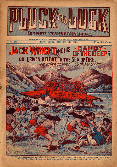 Jack Wright and his Dandy of the Deep