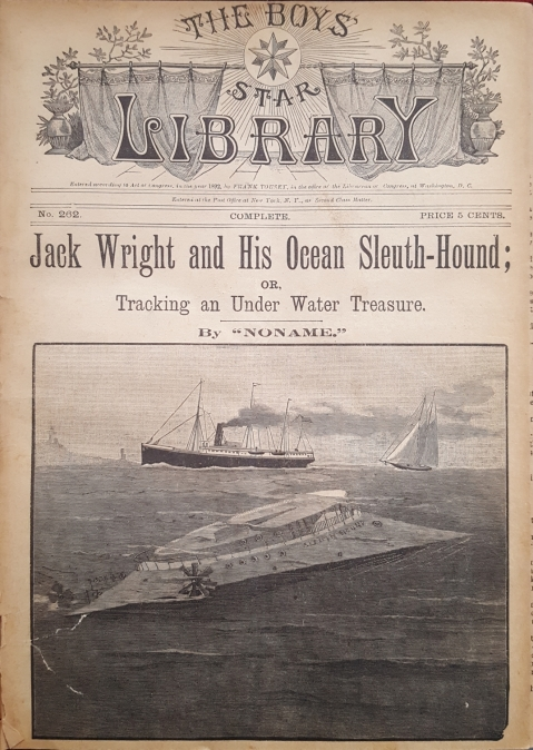 Jack Wright And His Ocean Sleuth-Hound (1892)