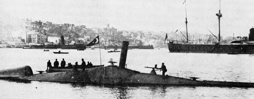 Nordenfelt_submarine_Abdülhamid
