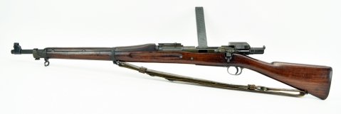 Springfield Armory 1903 MK I .30-06 SPRG (R18854) caliber rifle. Springfield 1903 with Pedersen device overall