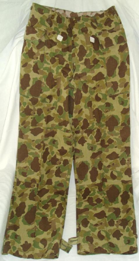 Trousers, HBT, Camouflage, via U.S. Military Forum http://www.usmilitariaforum.com/forums/index.php?/topic/179880-the-abcs-of-collecting-wwii-army-issued-hbt-clothing/
