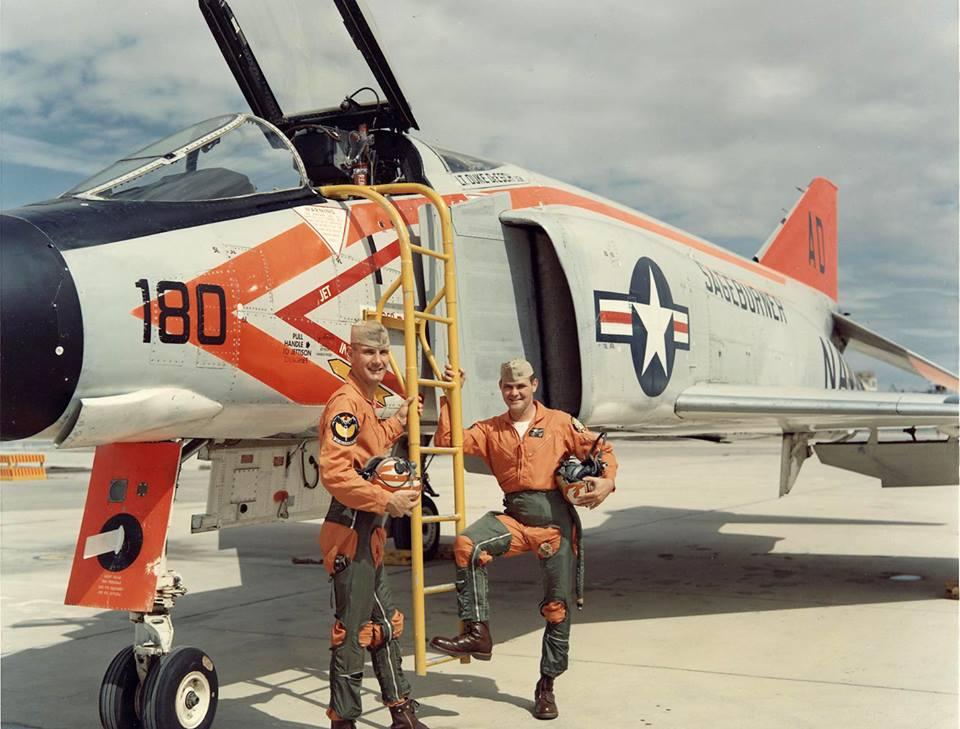 f4h 1 phantom ii crewed by pilot lt hunt hardisty and radar intercept officer lt earl h deesch. Black Bedroom Furniture Sets. Home Design Ideas
