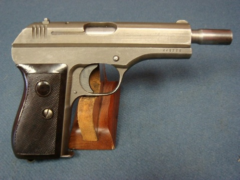 Scarce Late World War II Nazi Occupation Czechoslovakian Model 27 Pistol