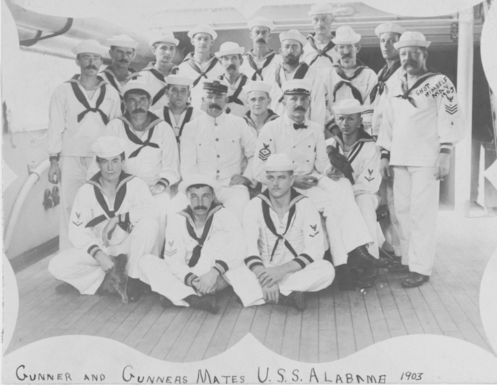 U.S. Naval History and Heritage Command Photograph # NH 57497