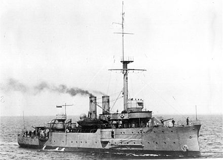 The mighty Estonian gunboat Lembit (1918-1927)