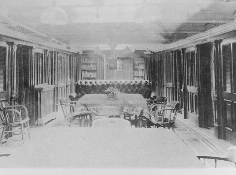 Wardroom, 1888. Catalog #: NH 56532