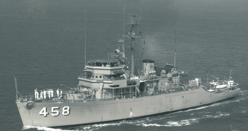 USS Lucid as commissioned, she is the only MSO afloat in the Western hemisphere