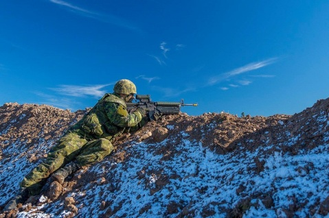 Photo: Cpl Peter Ford, Tactics School, 5th Canadian Division Support Group Gagetown