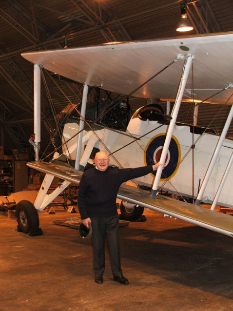 "Visiting the RN Historic Flight in 2008 to get re-acquainted with the Swordfish, the obsolete ""flying stringbag"" that proved so useful against both the Bismarck and at Taranto."