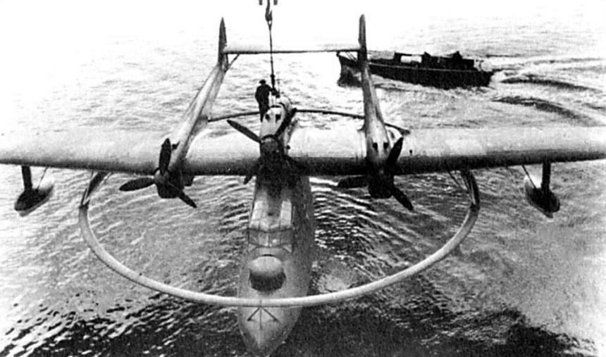 She spent most of the war operating Blohm & Voss BV 138 Seedrache (Sea Dragon) seaplanes, such as this one