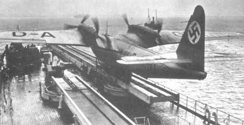 Only six Do26 - Transocean Flying Boats were made, and Schwabenland was very connected with them. None of these giant planes survived the war, indeed four had been destroyed before the 1943 weather station rescue