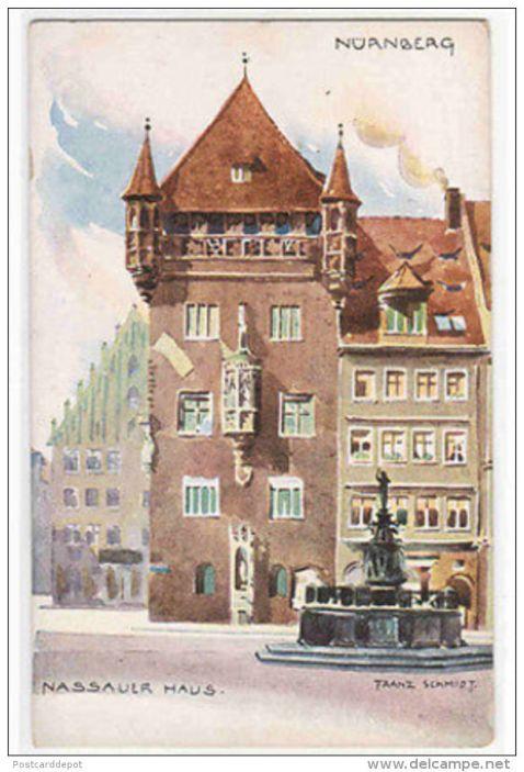 Nassauer Haus Nurnberg Germany, Franz Schmidt 1910.