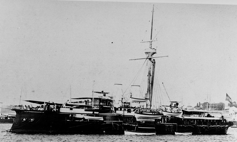 Courtesy of the International Naval Research Organization, Karl Gogg collection NH 87058