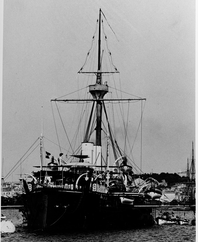Courtesy of the International Naval Research Organization, Karl Gogg collection. NH 87059