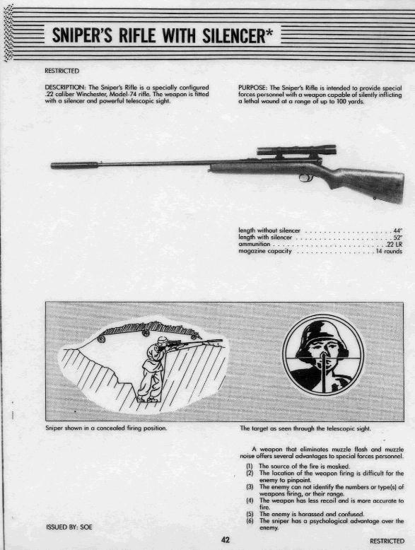 winchester-mod-74-22-semi-auto-with-parker-hale-silencer-fed-from-a-20-round-tube-magazine-located-in-the-stock