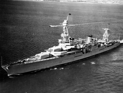 140609-N-ZZ999-001 140609-N-ZZ999-001 This photo shows the cruiser USS Houston (CA30) in the San Diego Bay in Oct. 1935
