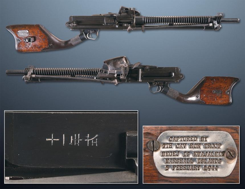 captured-by-7th-cav-rcn-trp-kwaj-5-feb-1944-hotchkiss-machine-gun-japanese-ria