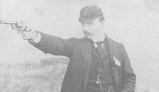 American Sumner Paine picked up the first Olympic Gold Medal in Free Pistol at the 1896 Athens Olympics. The event will likely be cashiered in 2020.
